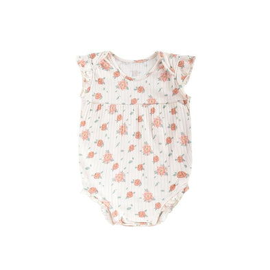 Adonis Bodysuit Off-White Flowers