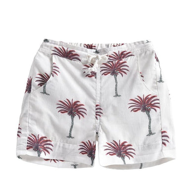 White Tropical Anandi Shorts