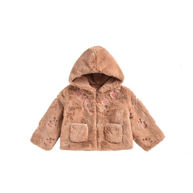 Jovica Nuts Fur Hooded Jacket