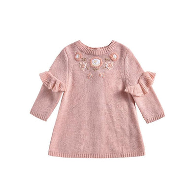 Knitted Milusa Blush Dress