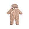 Lena Hooded Baby Jumpsuit