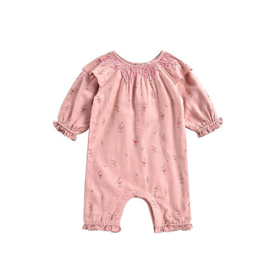 Lulia Cotton Baby Jumpsuit