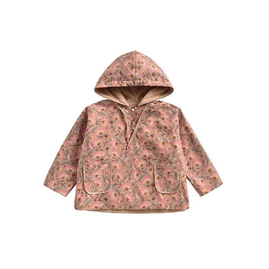 Mara Hooded Fleece Raincoat