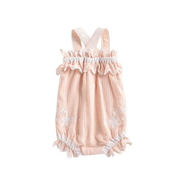 Oria Blush Rompers