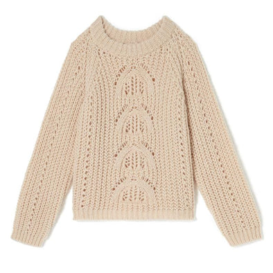 Salcea Blush Knitted Women's Jumper