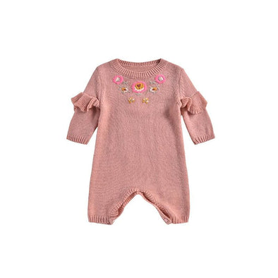 Tamalia Knitted Baby Jumpsuit