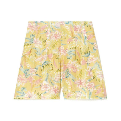 Toucan Shorts Soft Honey Parrots