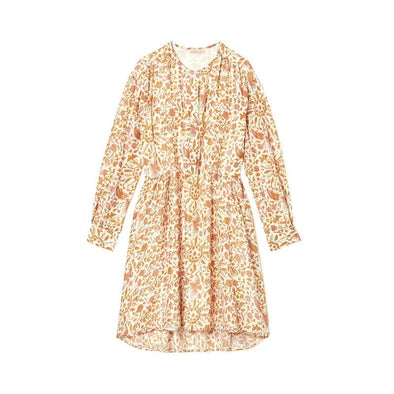 Wara Dress Cream Joshua Flowers
