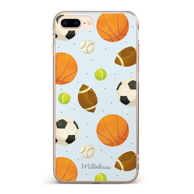 Mixed Sports Pattern iPhone Cover