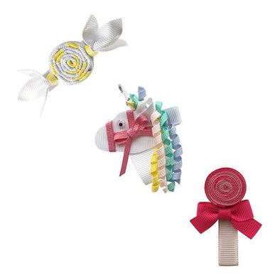 Unicorn Hairclips Gift Set