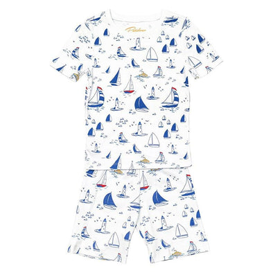 Sailboats Summer Pyjama Set