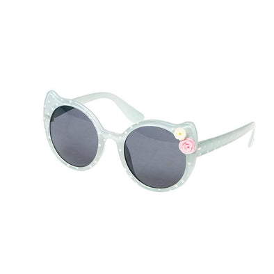 Blue Spotty Cat Sunglasses