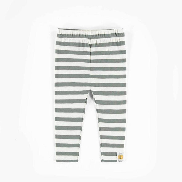 Organic Striped Leggings