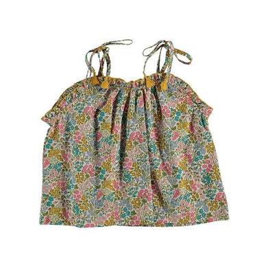 Cotton Liberty Sweet May Floral Top