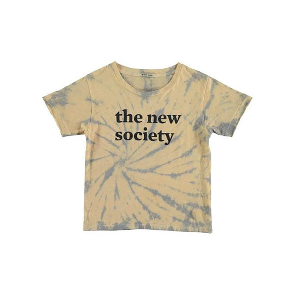 Unisex Short-sleeve Tee Tie Dye with The New Society Logo