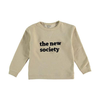 Unisex Organic Cotton Sweater with The New Society Logo