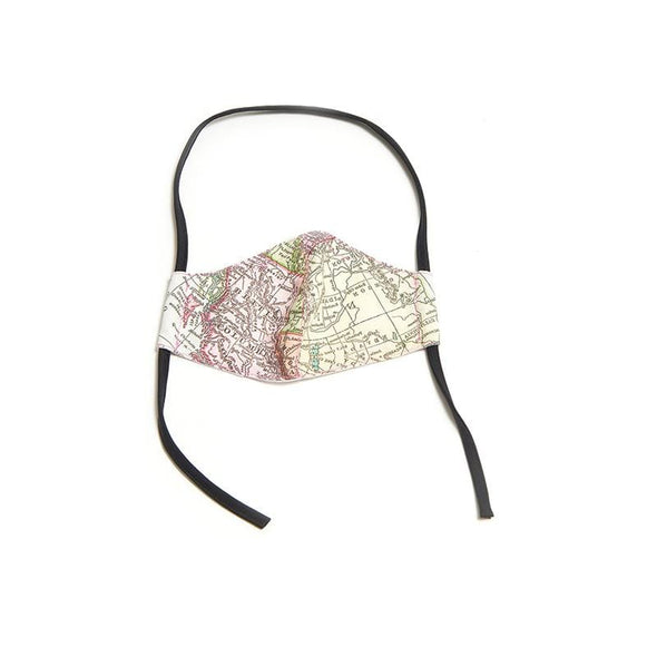 Get Lost Face Mask (Black Ear Loops)