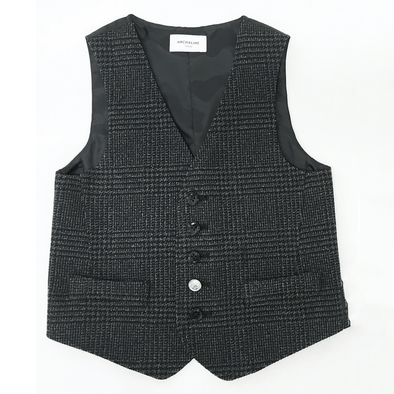 Tech Tweed Vest