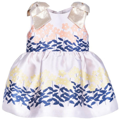 Peony Bodice Baby Dress and Matching Bloomers and Tulle Underskirt