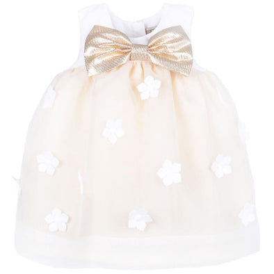 Organza Trapeze Dress and Bloomer Set