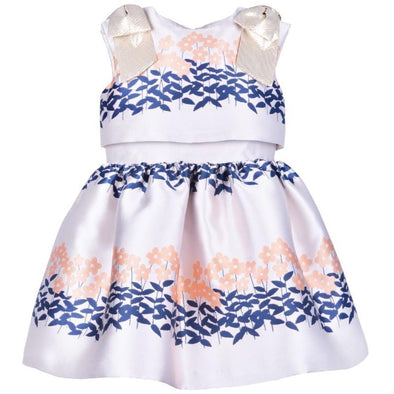 Ribbon Bodice Dress