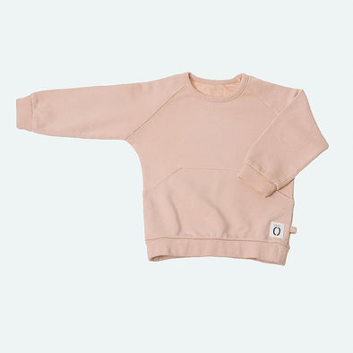 Girls Dusty Pink Sweatshirt