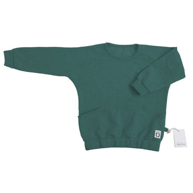 Kids Unisex Emerald Green Sweatshirt