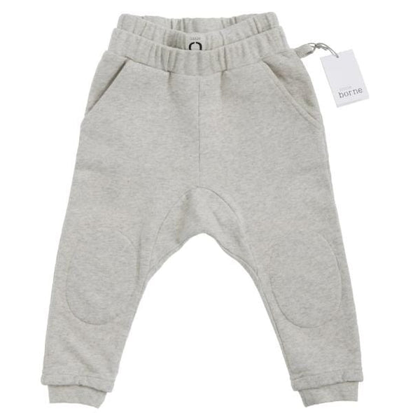 Kids Unisex Natural Marl Sweatpants