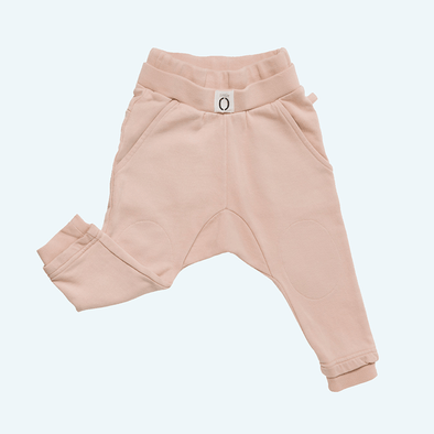 Girls Dusty Pink Sweatpants