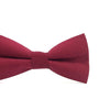 Baby, Toddler & Youth Bow Tie and Suspenders Solid Burgundy Set