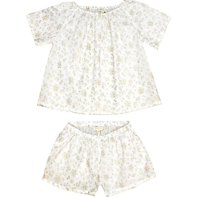White Gold Summer Pyjama