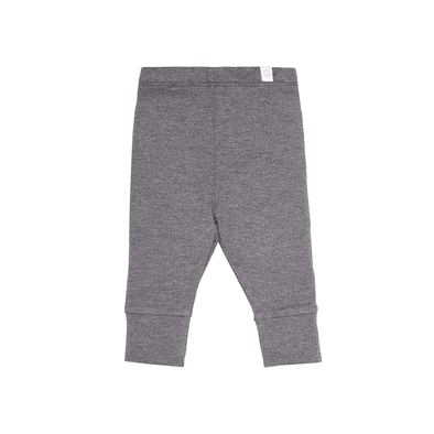 Dark grey super soft casual comfy leggings for babies and kids
