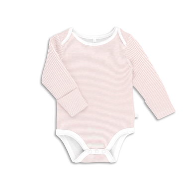 Baby Blush Stripe Long Sleeve Bodysuit