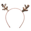 Sequin Reindeer Headband