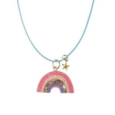 Sherbet Dip Rainbow Necklace