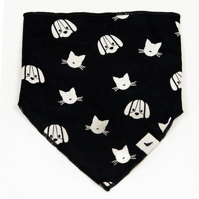 Percy and Maurice Stripe Dribble Bib