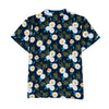 Botanical Print Boys Woven Top