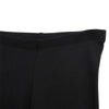 Girls Black Rib Leggings