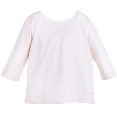 Soft Blush Half Sleeved Cotton Jersey Top