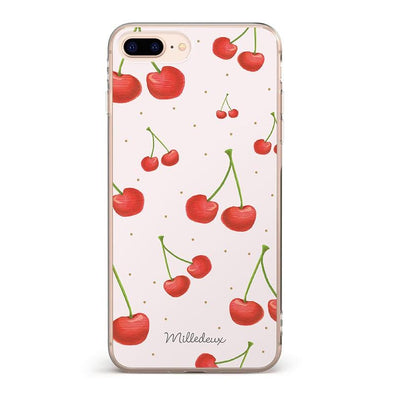 Cherry Pattern iPhone Cover