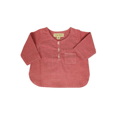 Raspberry Chambray Shirt