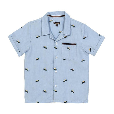 Blue Taxi Panama Shirt