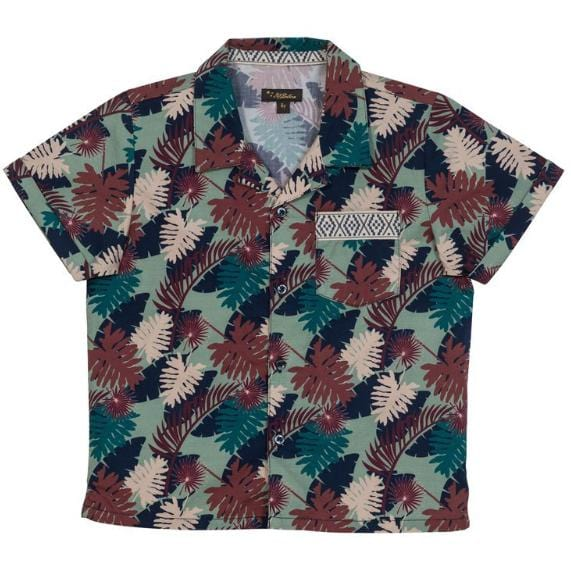 Tropical Leaf Panama Shirt