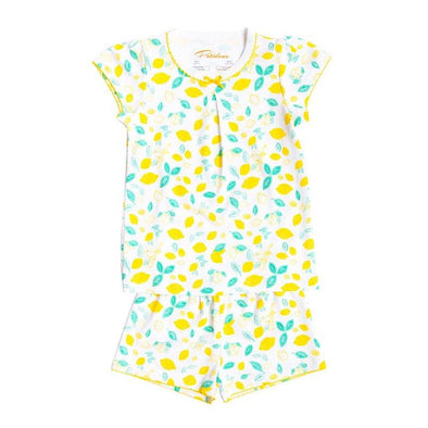 Short Sleeve Lemon Pyjama Set