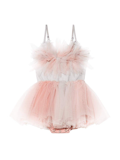 Perfect Pink & White Valentine's Baby Passion Petal Tutu Dress