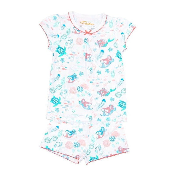 Short Sleeve Mermaid Symphony PJs