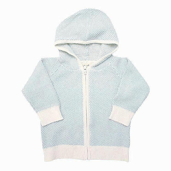 Cotton Zip Cardigan