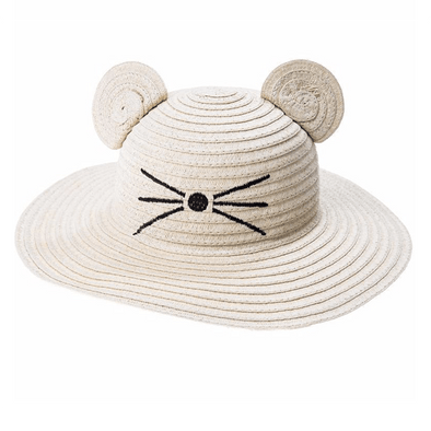 Little Mouse Floppy Sun Hat 3-6