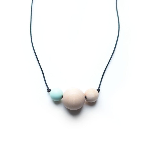 Mint Teething Necklace