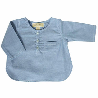 Light Blue Chambray Shirt